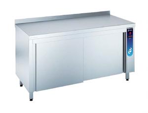 mesa caliente para cocina industrial de segunda mano